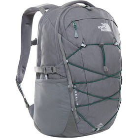 The North Face Borealis Rugzak, zinc grey dark heather/evergreen
